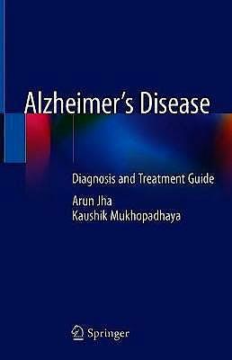 Portada del libro 9783030567385 Alzheimer's Disease. Diagnosis and Treatment Guide