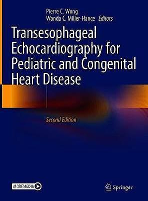 Portada del libro 9783030571924 Transesophageal Echocardiography for Pediatric and Congenital Heart Disease