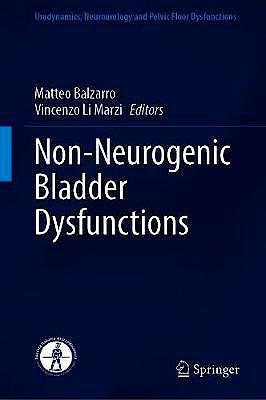 Portada del libro 9783030573928 Non-Neurogenic Bladder Dysfunctions