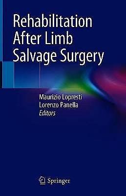 Portada del libro 9783030663513 Rehabilitation After Limb Salvage Surgery