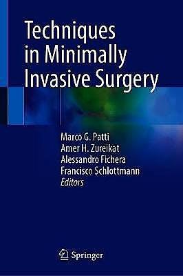 Portada del libro 9783030679392 Techniques in Minimally Invasive Surgery