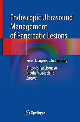 Portada del libro 9783030719364 Endoscopic Ultrasound Management of Pancreatic Lesions. From Diagnosis to Therapy