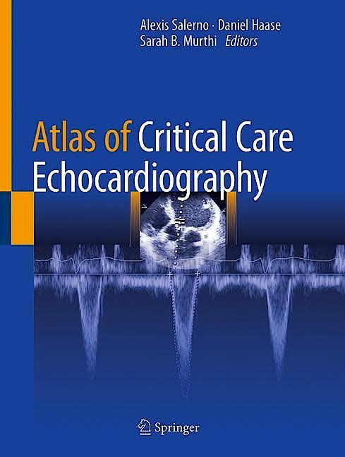 Portada del libro 9783030746858 Atlas of Critical Care Echocardiography