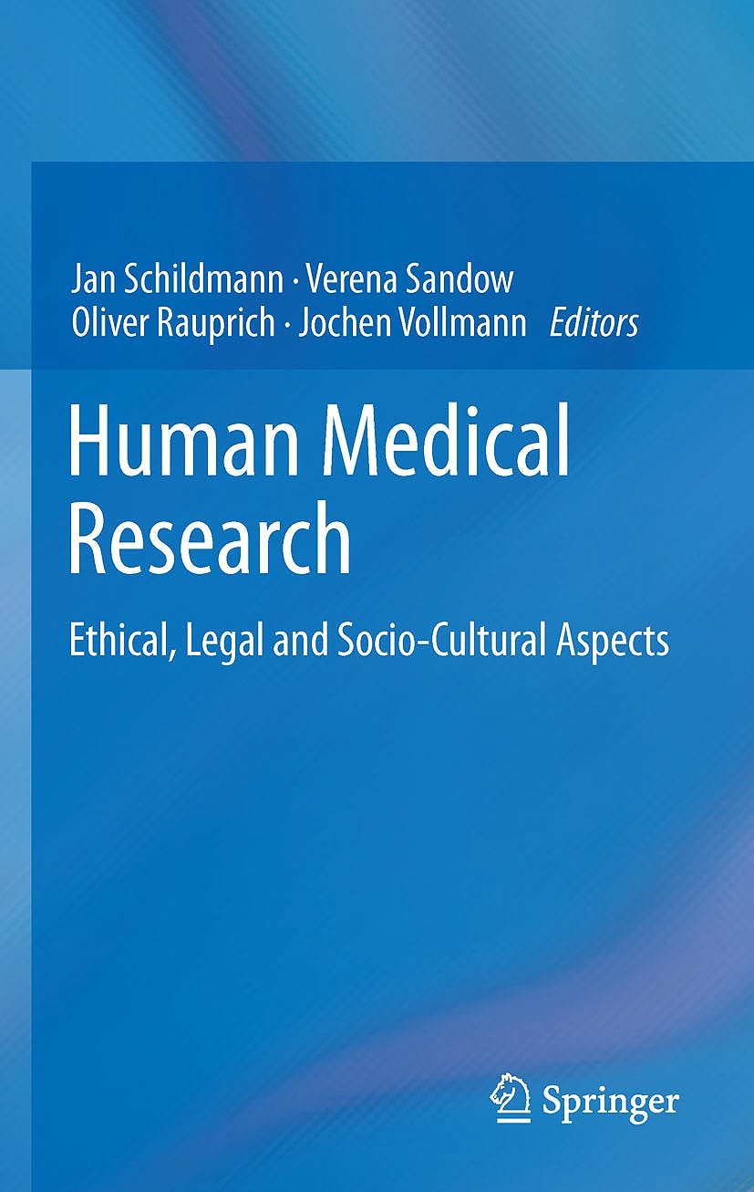 Portada del libro 9783034803892 Human Medical Research, Ethical, Legal and Socio-Cultural Aspects