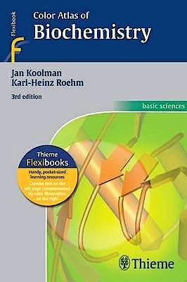 Portada del libro 9783131003737 Color Atlas of Biochemistry