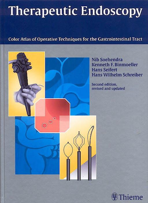 Portada del libro 9783131082626 Therapeutic Endoscopy. Color Atlas of Operative Techniques