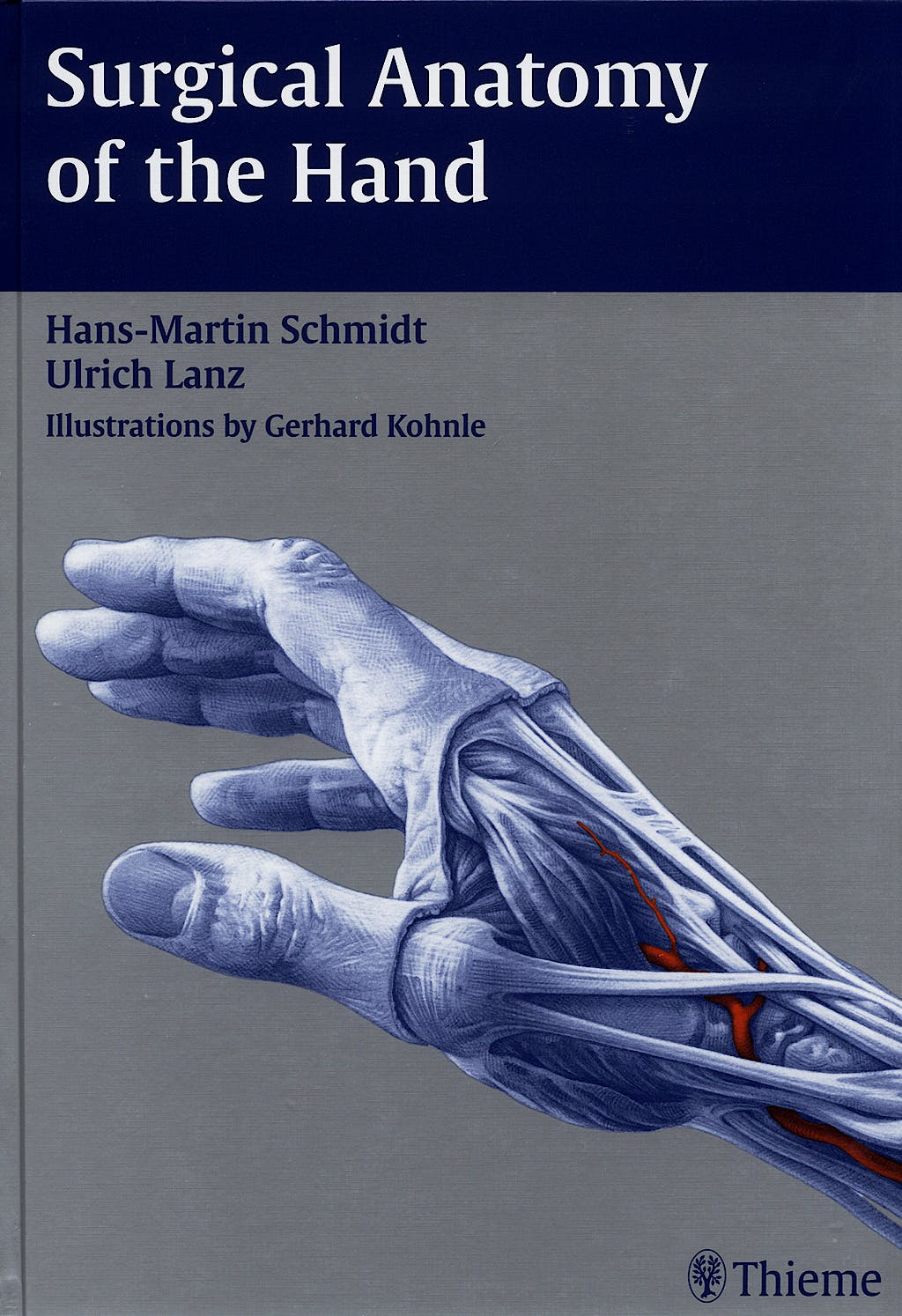 Portada del libro 9783131252616 Surgical Anatomy of the Hand