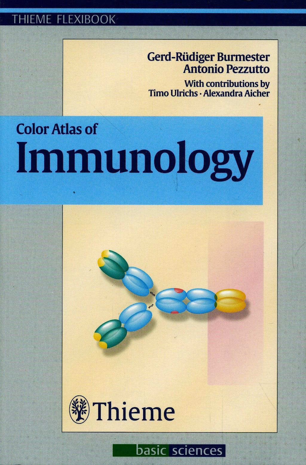 Portada del libro 9783131267412 Color Atlas of Immunology