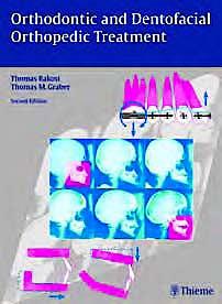 Portada del libro 9783131277619 Orthodontic and Dentofacial Orthopedic Treatment