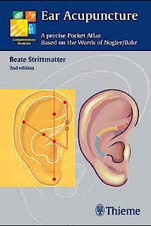 Portada del libro 9783131319623 Ear Acupuncture. A Precise Pocket Atlas Based on the Works of Nogier/Bahr