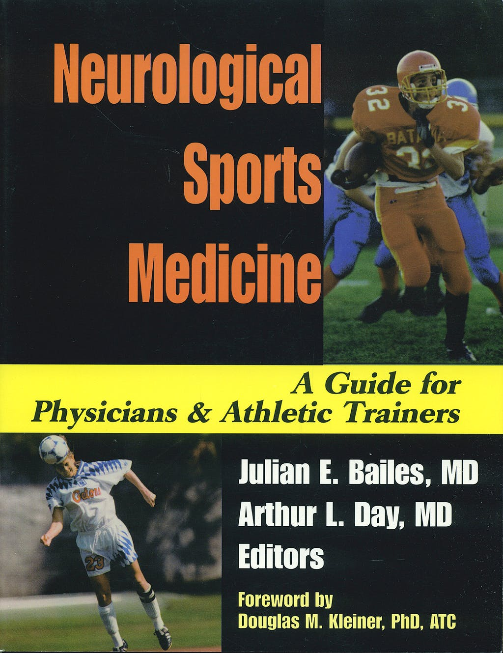 Portada del libro 9783131347916 Neurological Sports Medicine. a Guide for Physicians and Athletic Trainers