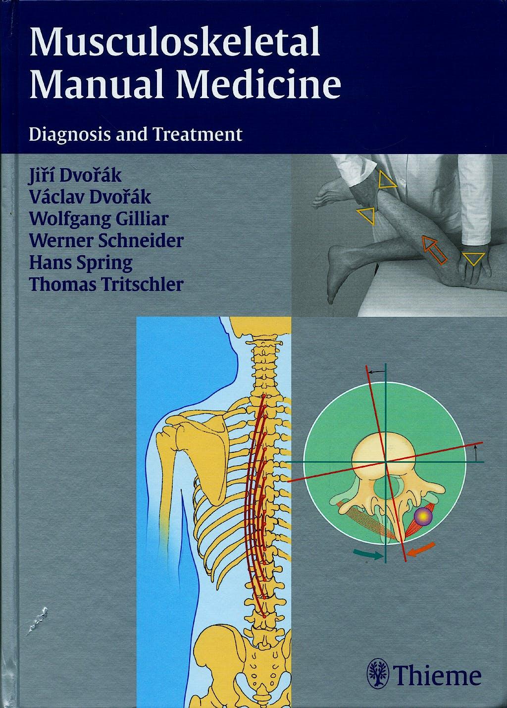 Portada del libro 9783131382818 Musculoskeletal Manual Medicine. Diagnosis and Treatment
