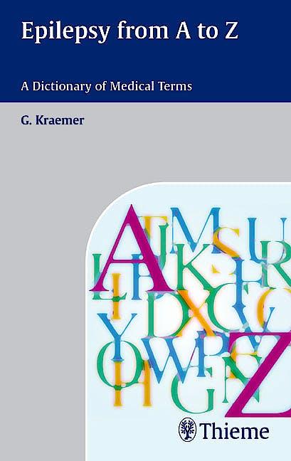 Portada del libro 9783131383310 Epilepsy from a - Z