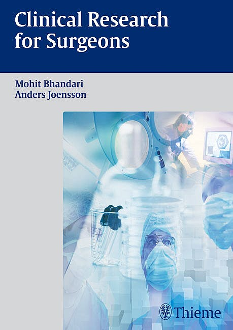 Portada del libro 9783131439314 Clinical Research for Surgeons