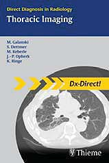 Portada del libro 9783131451316 Direct Diagnosis in Radiology: Thoracic Imaging