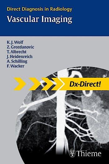 Portada del libro 9783131451811 Vascular Imaging. Direct Diagnosis in Radiology