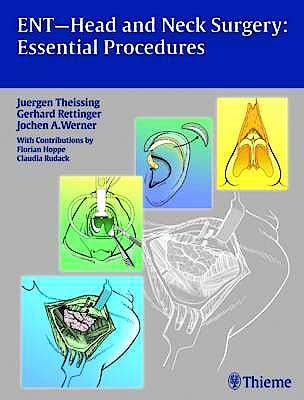 Portada del libro 9783131486219 Ent-Head and Neck Surgery: Essential Procedures