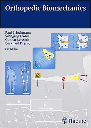 Portada del libro 9783131768223 Orthopedic Biomechanics