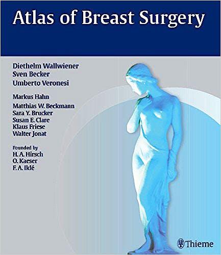 Portada del libro 9783131997814 Atlas of Breast Surgery