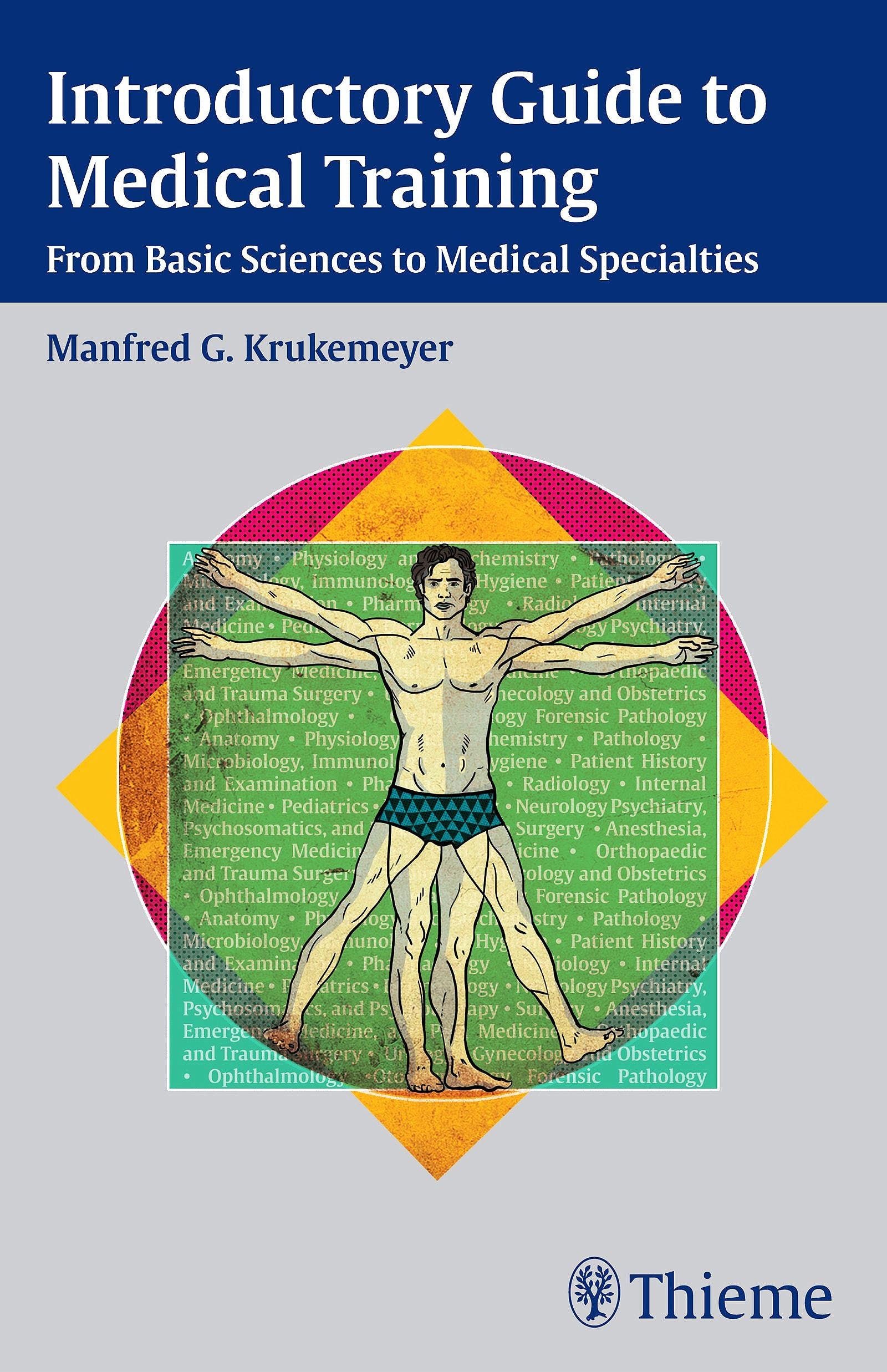 Portada del libro 9783132012110 Introductory Guide to Medical Training. From Basic Sciences to Medical Specialties