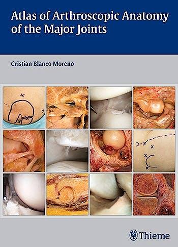 Portada del libro 9783132037915 Atlas of Arthroscopic Anatomy of the Major Joints