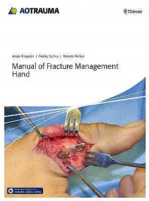Portada del libro 9783132215818 AO Manual of Fracture Management. Hand
