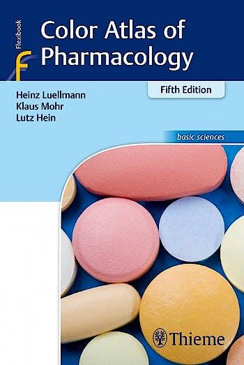 Portada del libro 9783132410657 Color Atlas of Pharmacology