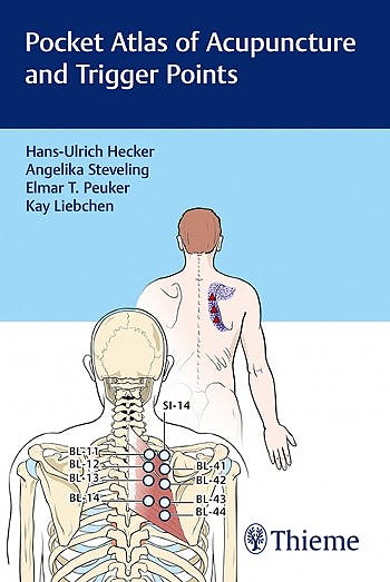 Portada del libro 9783132416031 Pocket Atlas of Acupuncture and Trigger Points