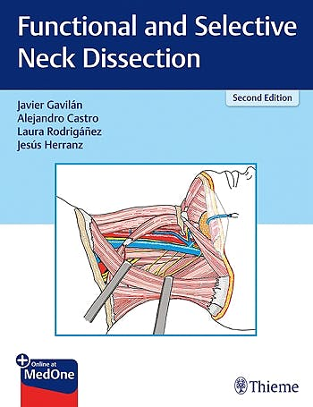 Portada del libro 9783132419537 Functional and Selective Neck Dissection