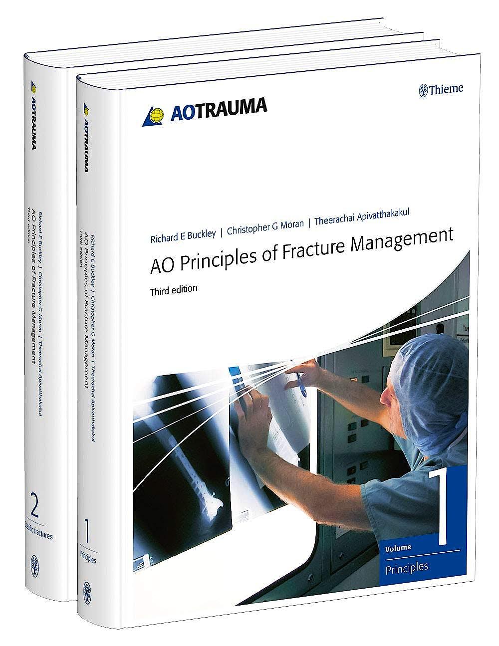Portada del libro 9783132444737 AO Principles of Fracture Management (2 Volume Set)
