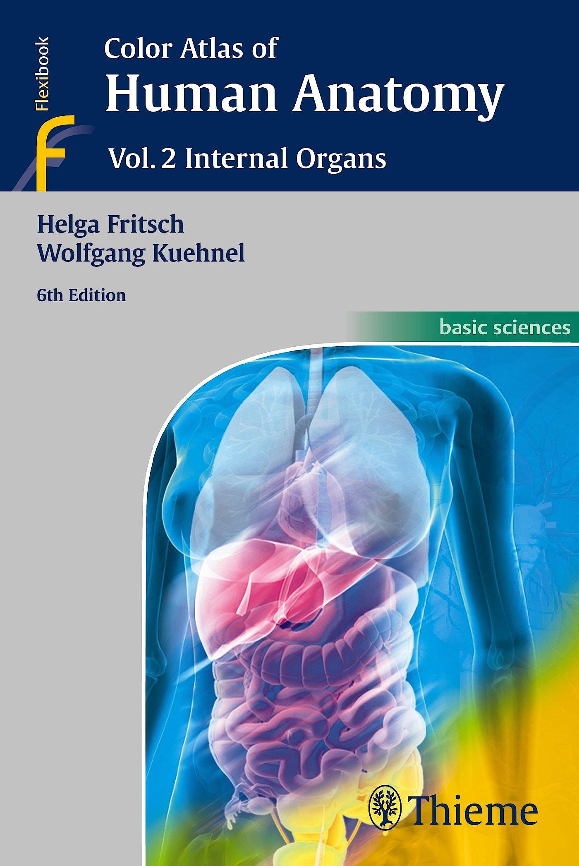 Portada del libro 9783135334066 Color Atlas of Human Anatomy, Vol. 2: Internal Organs