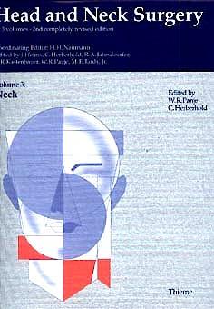 Portada del libro 9783135470023 Head and Neck Surgery Vol. 3 the Neck