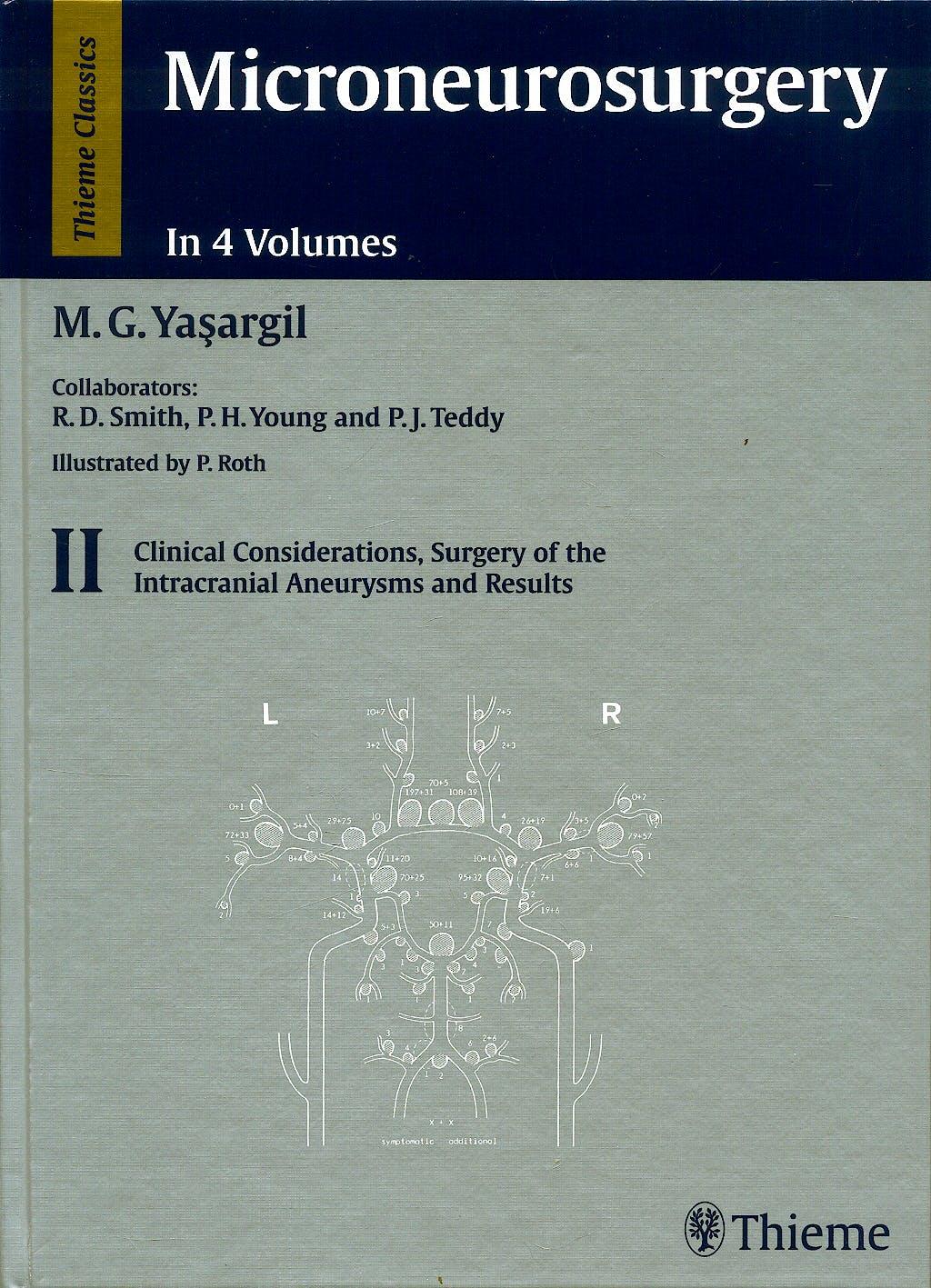 Portada del libro 9783136449011 Microneurosurgery, Vol. 2