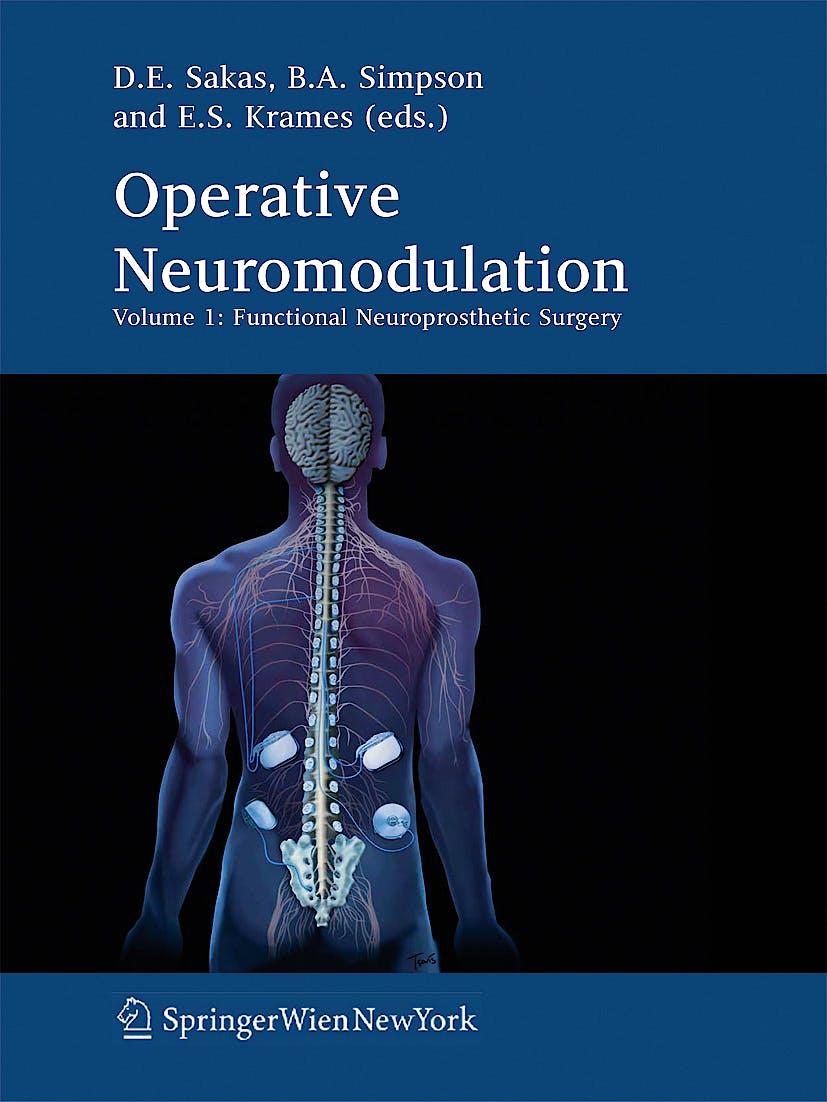Portada del libro 9783211330784 Operative Neuromodulation, Volume 1: Functional Neuroprosthetic Surgery. an Introduction