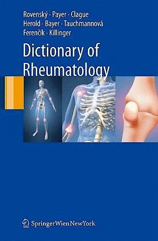 Portada del libro 9783211685846 Dictionary of Rheumatology