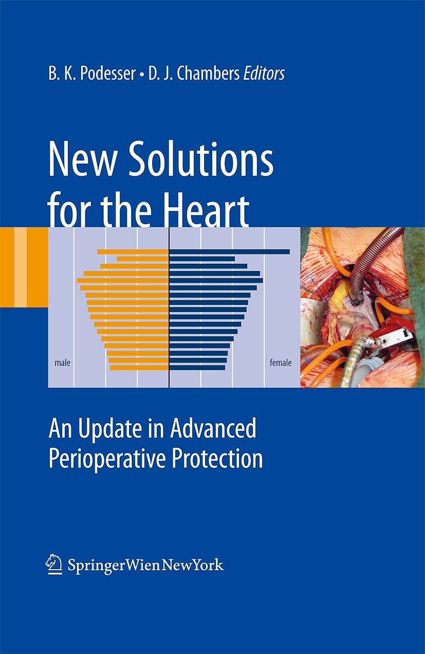 Portada del libro 9783211855478 New Solutions for the Heart. an Update in Advanced Perioperative Protection