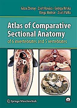 Portada del libro 9783211997628 Atlas of Comparative Sectional Anatomy of 6 Invertebrates and 5 Vertebrates