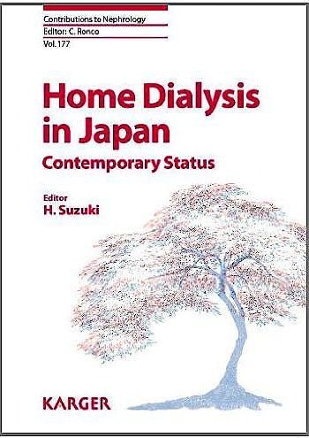 Portada del libro 9783318021097 Home Dialysis in Japan, Contemporary Status