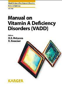 Portada del libro 9783318021431 Manual on Vitamin a Deficiency Disorders (Vadd)