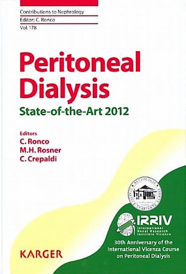 Portada del libro 9783318021622 Peritoneal Dialysis - State-of-the-Art 2012