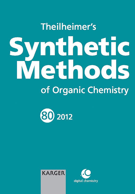 Portada del libro 9783318021998 Theilheimer's Synthetic Methods of Organic Chemistry