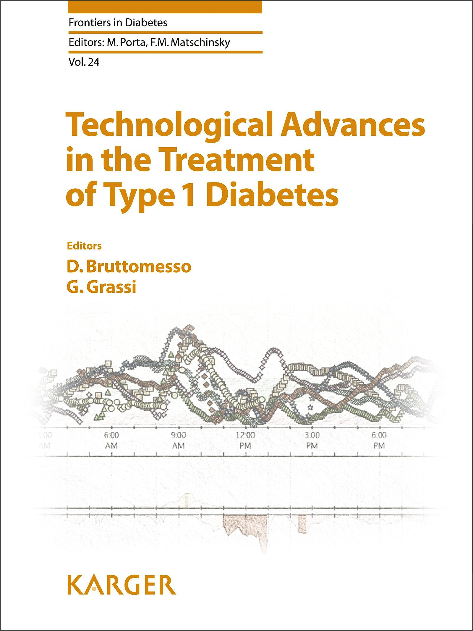Portada del libro 9783318023367 Technological Advances in the Treatment of Type 1 Diabetes (Frontiers in Diabetes, Vol. 24)