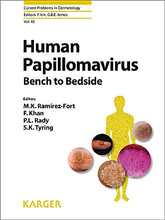 Portada del libro 9783318025262 Human Papillomavirus. Bench to Bedside. Current Problems in Dermatology, Vol. 45