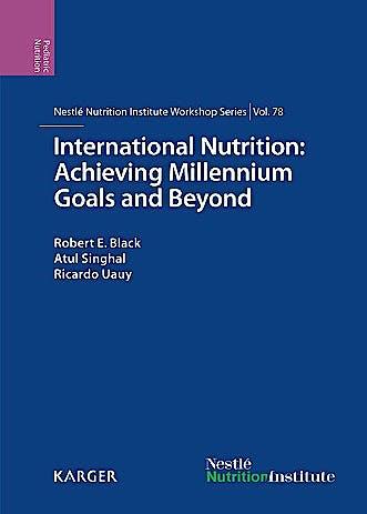 Portada del libro 9783318025309 International Nutrition: Achieving Millennium Goals and Beyond. 78th Nestlé Nutrition Institute Workshop, Muscat, March 2013