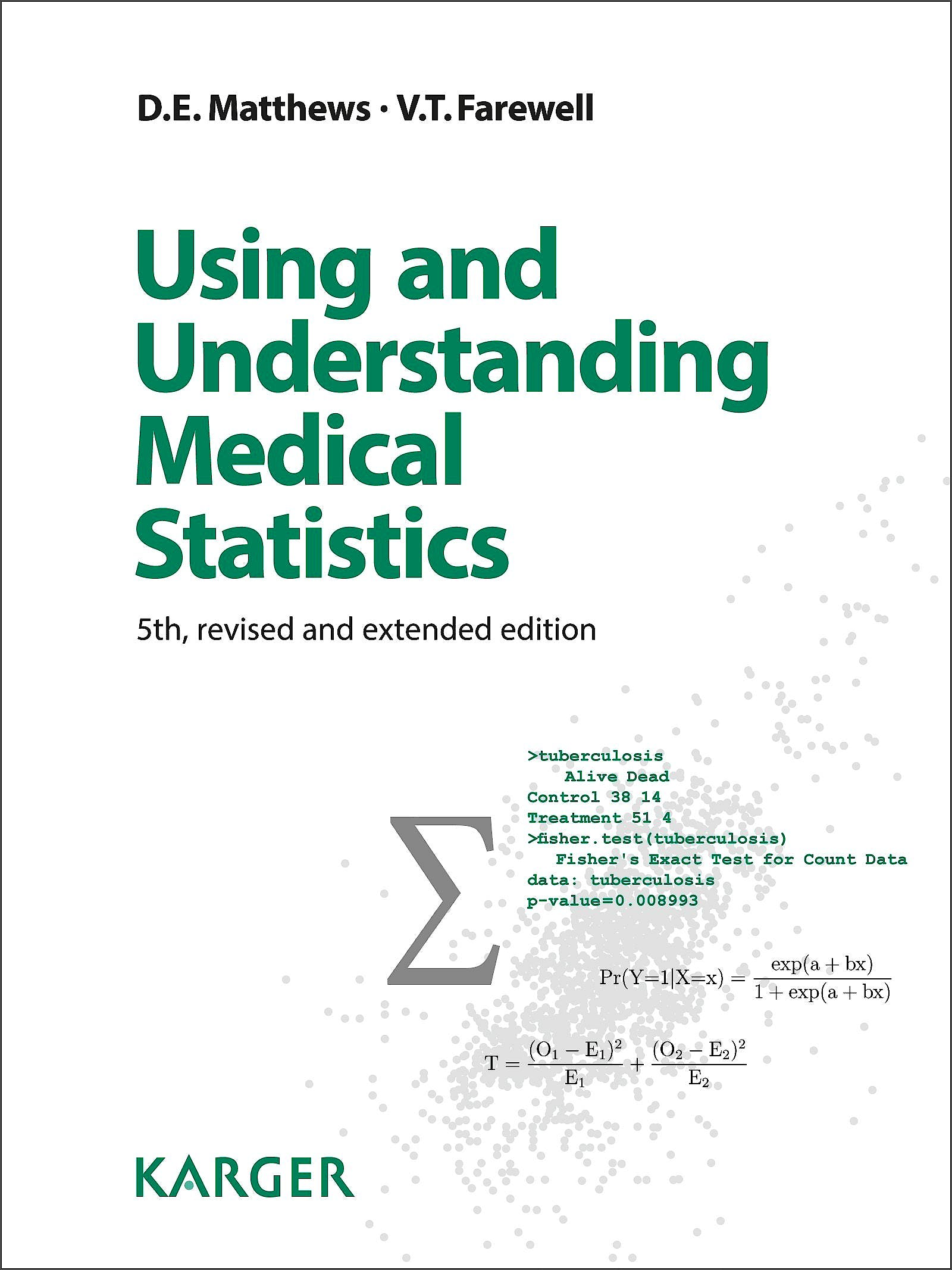 Portada del libro 9783318054583 Unsing and Understanding Medical Statistics