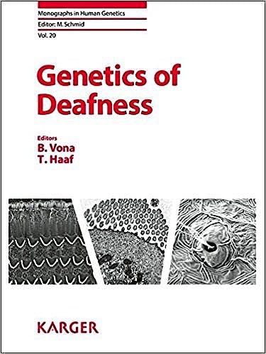 Portada del libro 9783318058550 Genetics of Deafness
