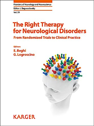 Portada del libro 9783318058642 The Right Therapy for Neurological Disorders. from Randomized Trials to Clinical Practice