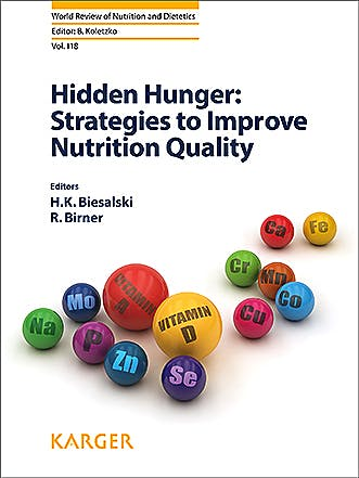 Portada del libro 9783318062526 Hidden Hunger. Strategies to Improve Nutrition Quality