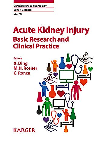 Portada del libro 9783318063103 Acute Kidney Injury. Basic Research and Clinical Practice