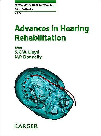 Portada del libro 9783318063141 Advances in Hearing Rehabilitation
